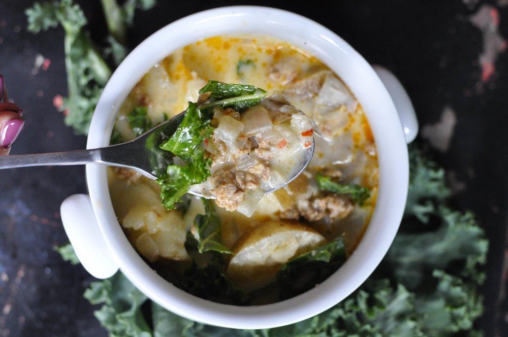 Zuppa Toscana Soup | coupleinthekitchen.com