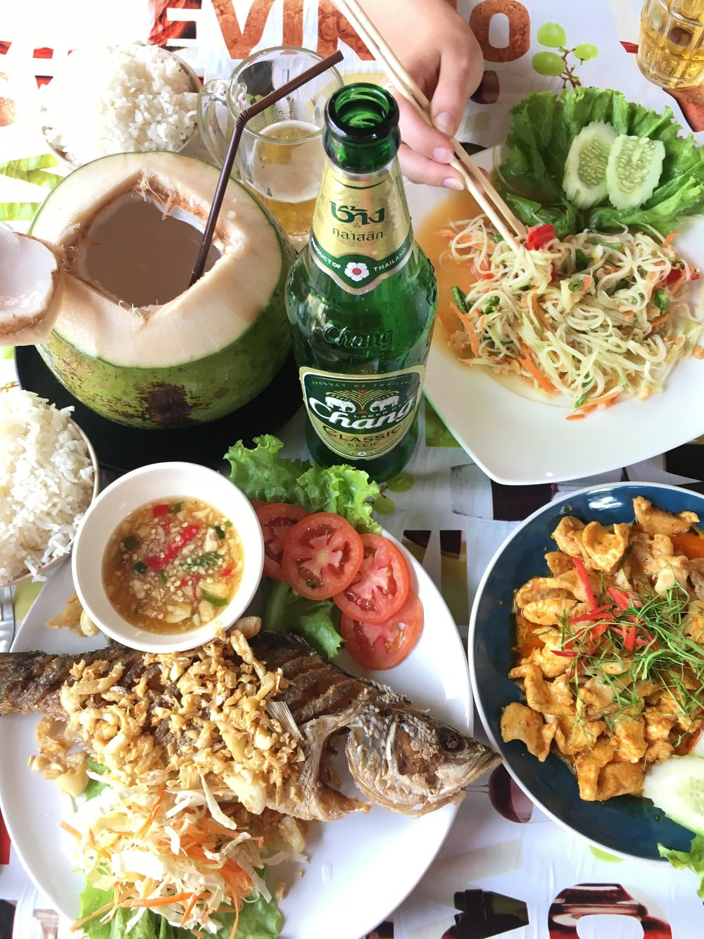 What to eat in Krabi, Thailand | coupleinthekitchen.com