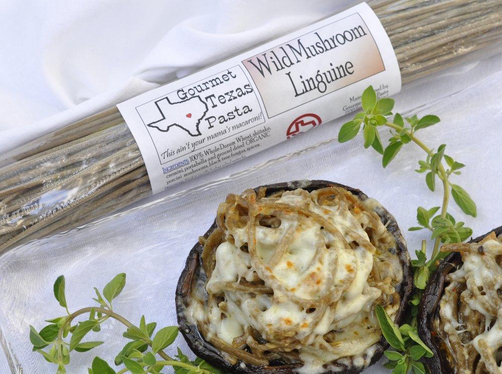 Stuffed Portobello Mushroom Pasta Bowls | coupleinthekitchen.com
