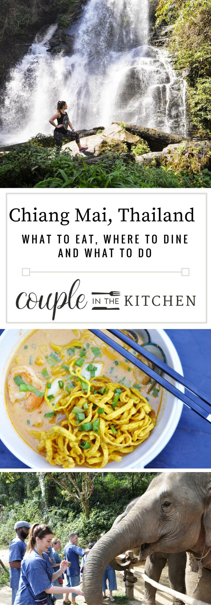 What to do in Chiang Mai Thailand | coupleinthekitchen.com