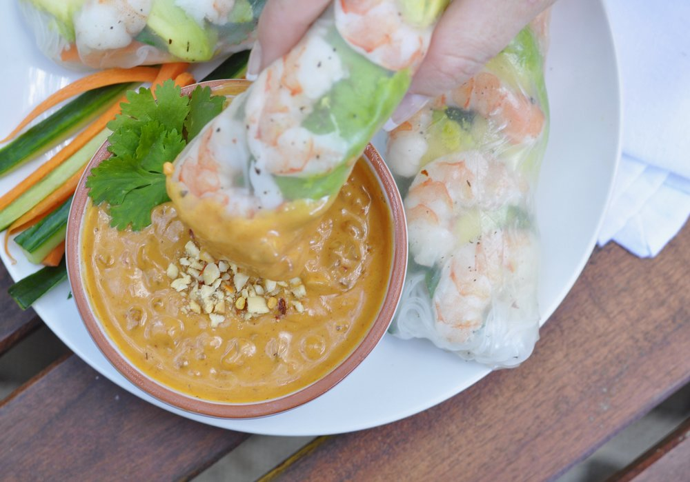 Spring Roll Recipe | coupleinthekitchen.com
