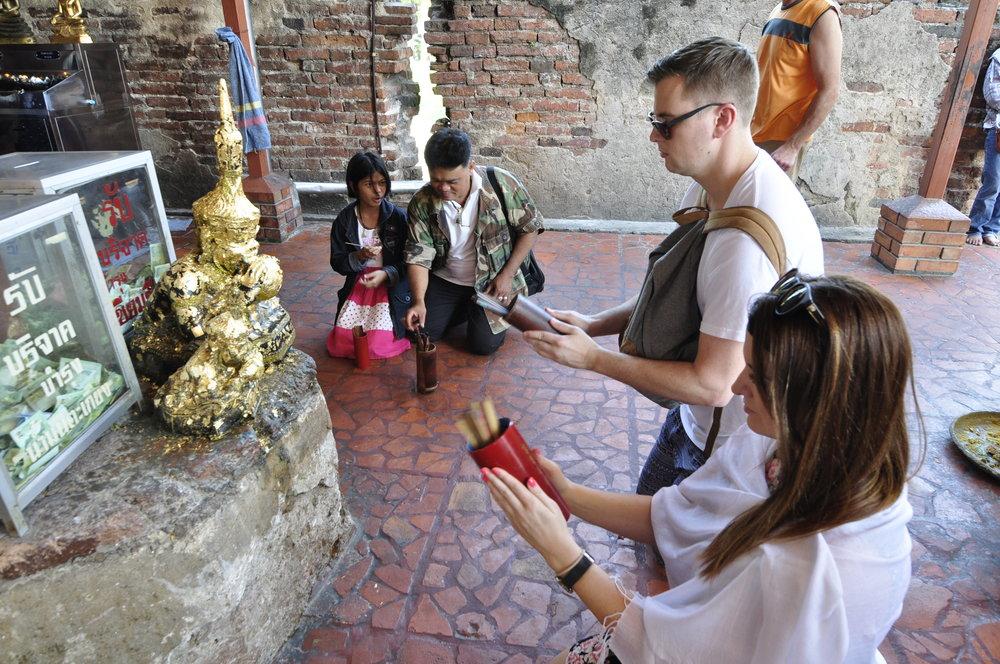 Ayutthaya Thailand Temples | coupleinthekitchen.com