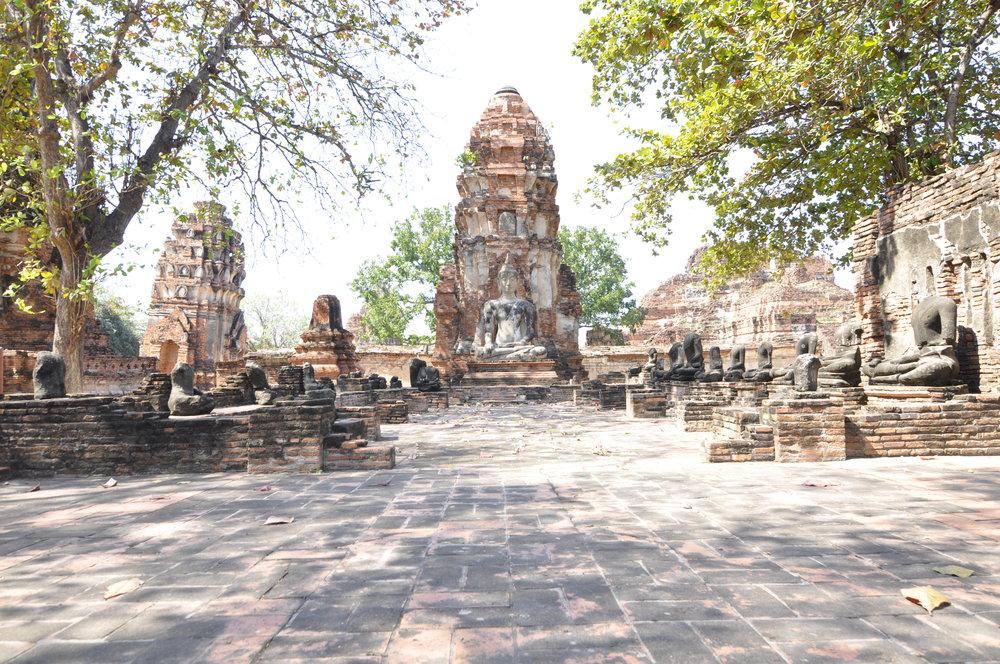 Ayutthaya Thailand Ruins | coupleinthekitchen.com