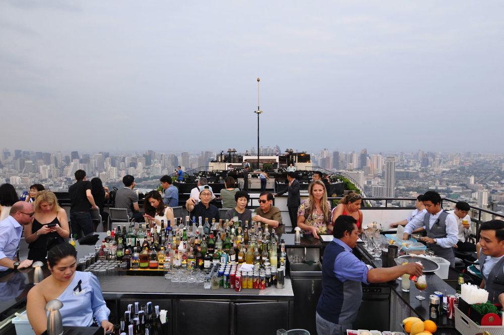 Bangkok Thailand Cocktail Bar | coupleinthekitchen.com