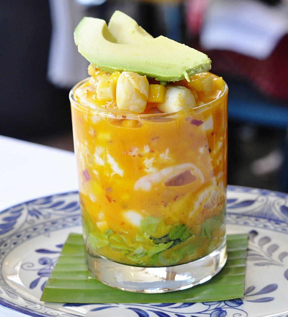 Mexican Shrimp Cocktail   coupleinthekitchen.com