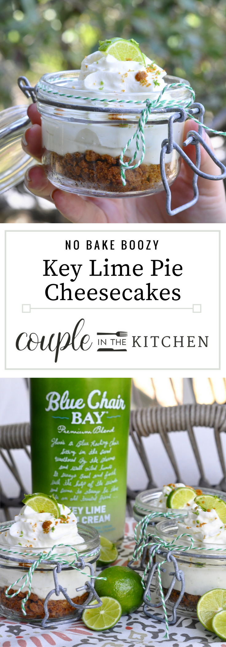 Key Lime Pie Cheesecake | coupleinthekitchen.com