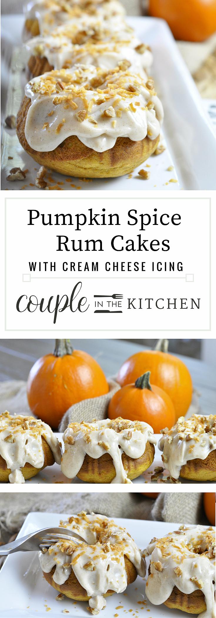 Pumpkin Spice Rum Cake | coupleinthekitchen.com.png