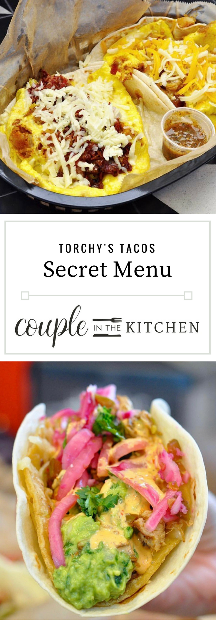 torchy's secret menu — couple in the kitchen