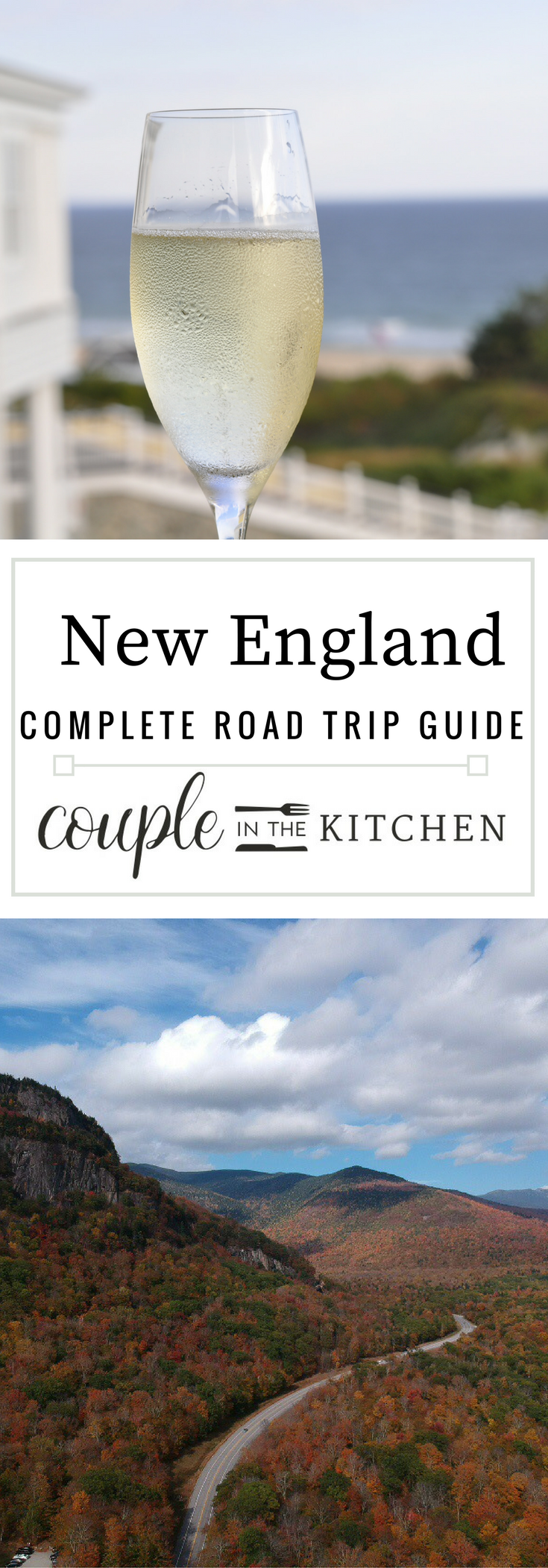 New England Road Trip Itinerary | coupleinthekitchen.com