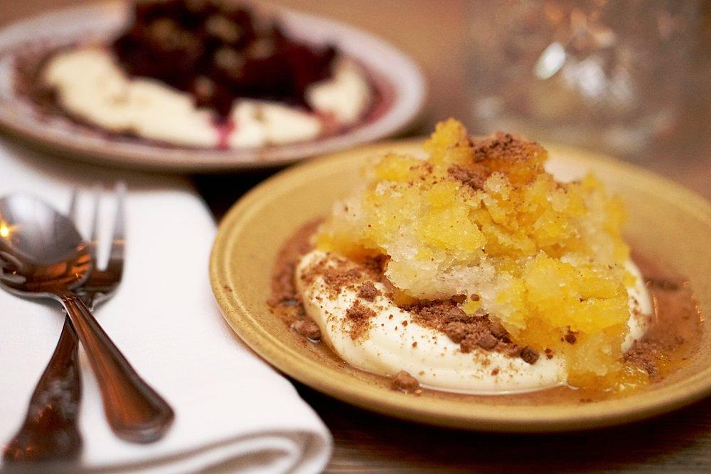 Skyr dessert from Matur Og Drykkr