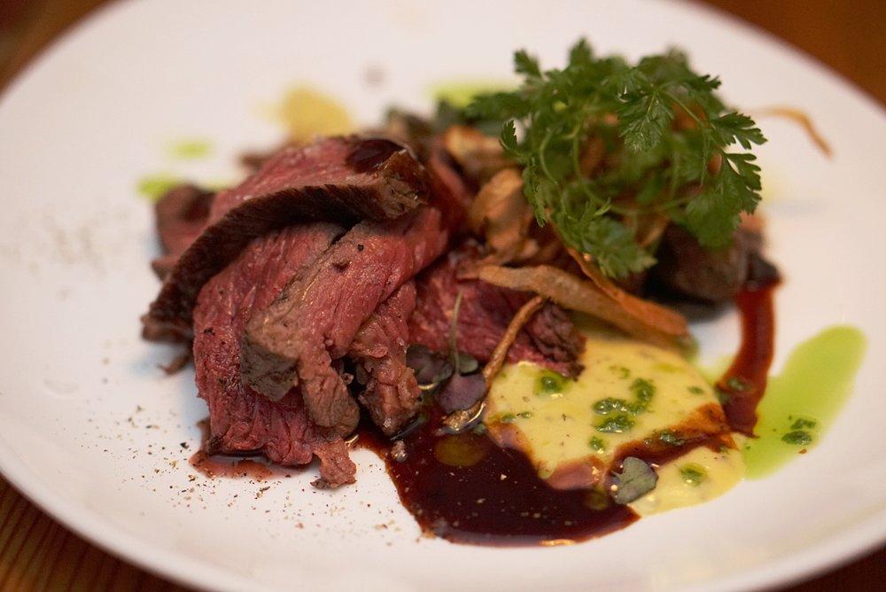 Horse steak from Forréttabarinnc