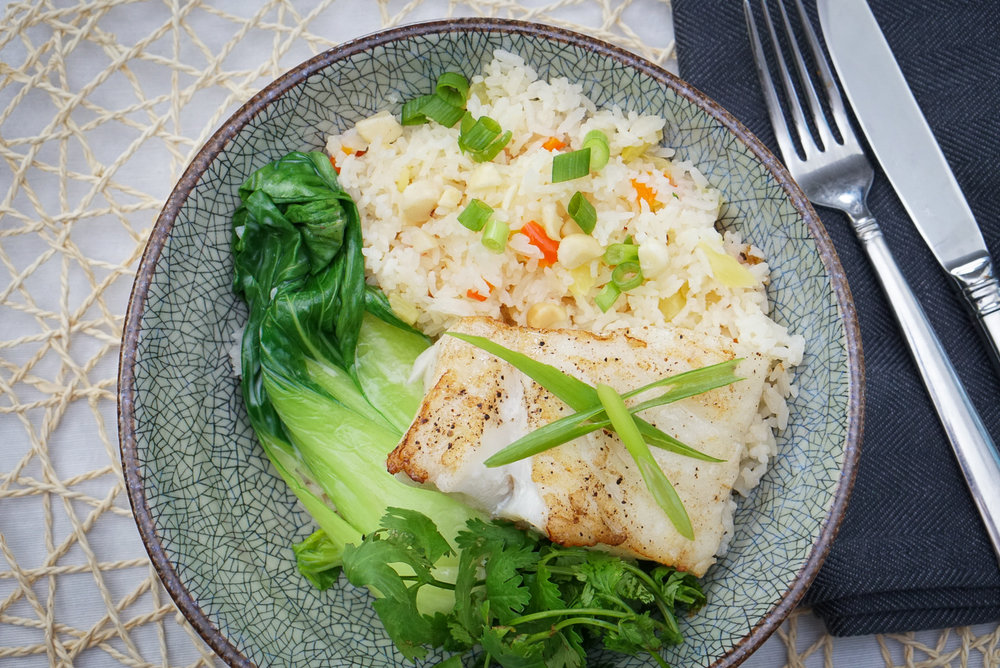 Coconut Poached Fish | coupleinthekitchen.com
