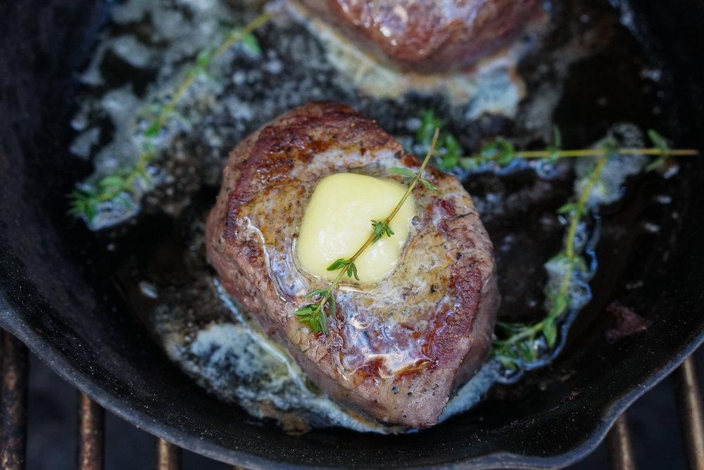 The Perfect Filet Mignon Recipe | coupleinthekitchen.com