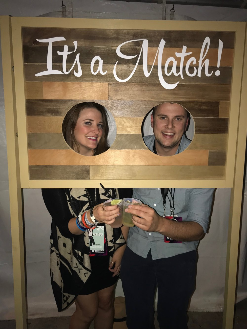 Tinder at SXSW | coupleinthekitchen.com