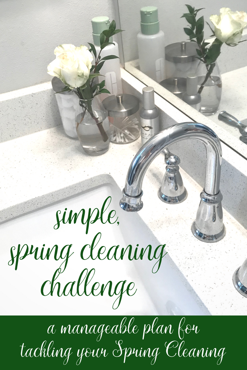 Easy Spring Cleaning Plan | coupleinthekitchen.com
