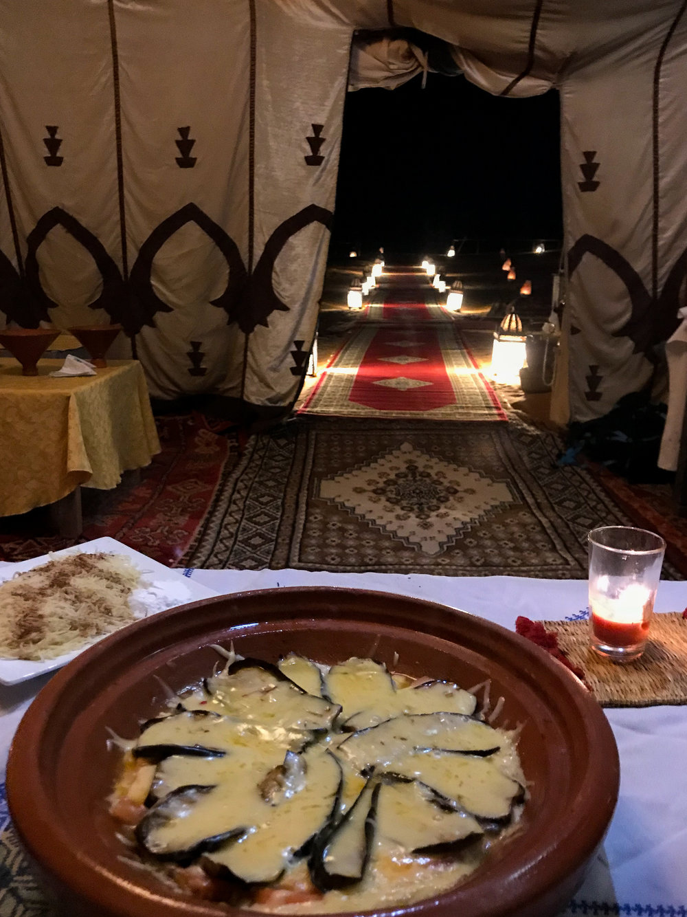 Moroccan Glamping in the Sahara Desert | coupleinthekitchen.com