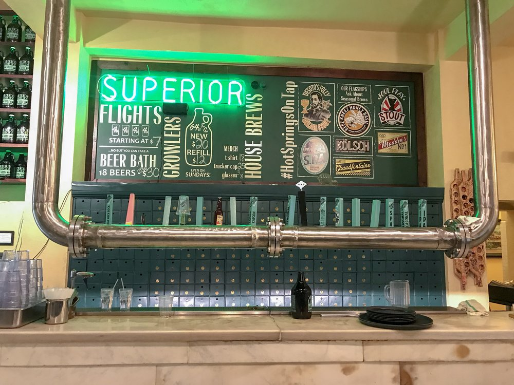 Thermal Hot Spring Brewery in Hot Springs, Arkansas | coupleinthekitchen.com