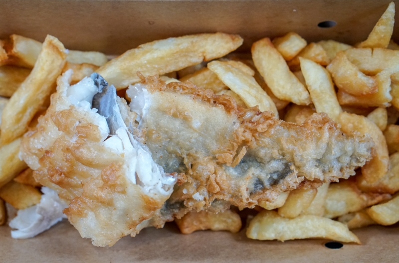 The BEST fish and chips in London!