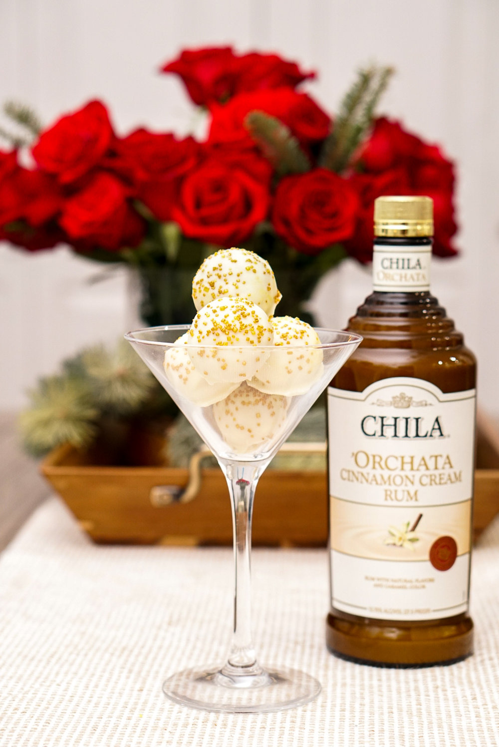 Boozy Horchata White Chocolate Truffle Recipe | coupleinthekitchen.com