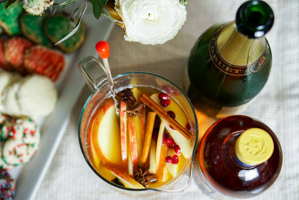 Whiskey Apple Cider Sangria Recipe | coupleinthekitchen.com