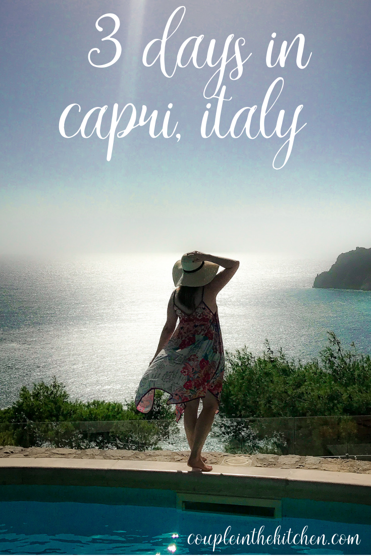 Spending Sunday In Floating Frozen >> How To Spend 3 Days In Capri Italy On The Amalfi Coast Couple In