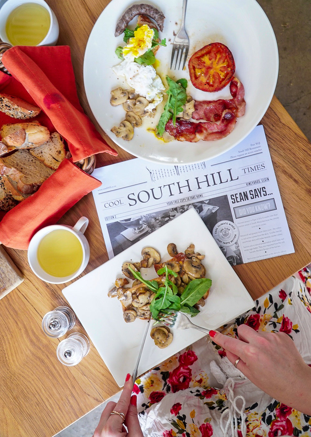 Where to Eat in South Africa Wine Country | www.coupleinthekitchen.com