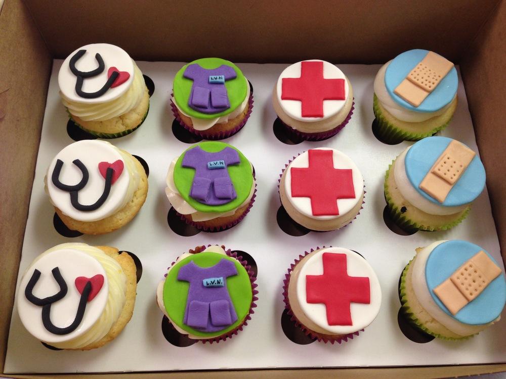Medical Cupcakes | Sugar Lab Bake Shop