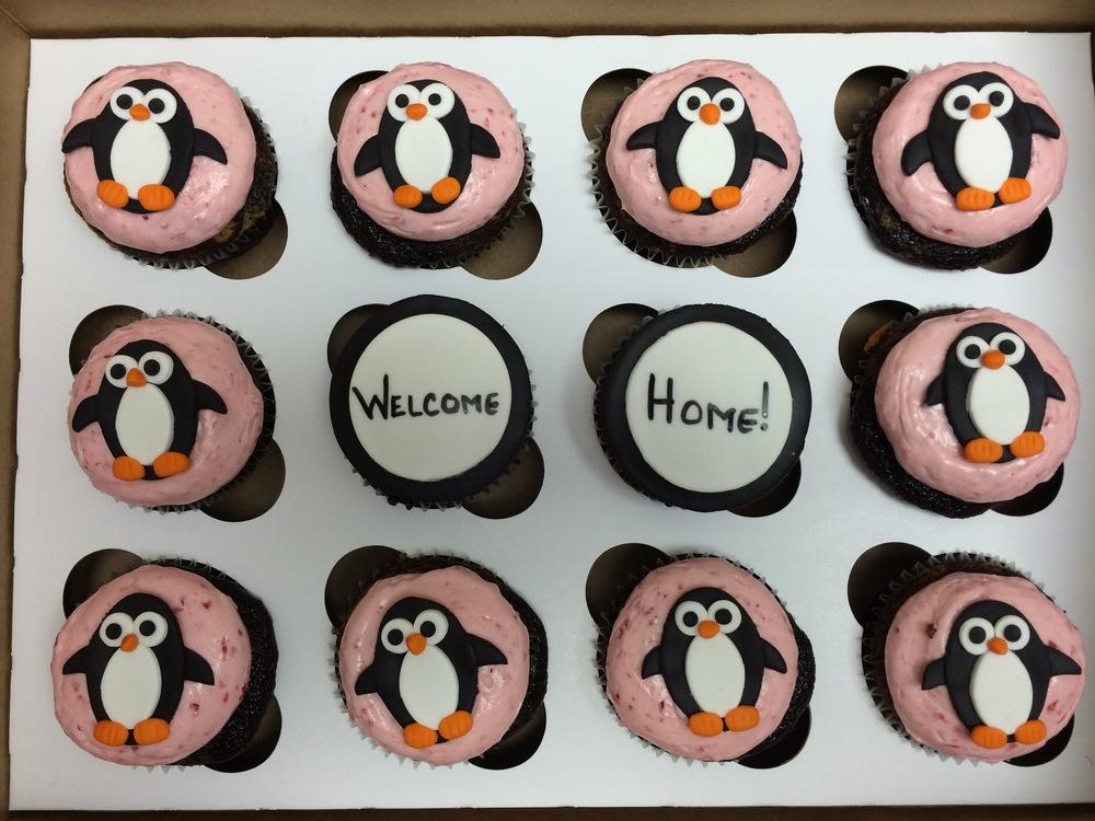 Penguin Cupcakes | Sugar Lab Bake Shop