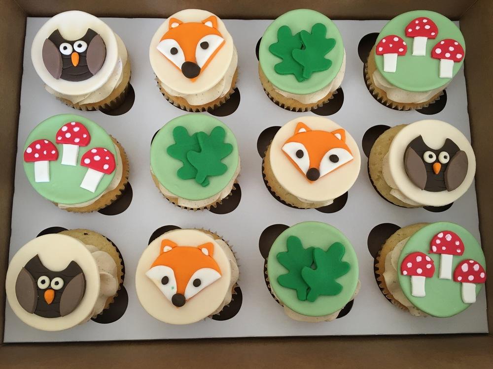 Woodland Cupcakes | Sugar Lab Bake Shop