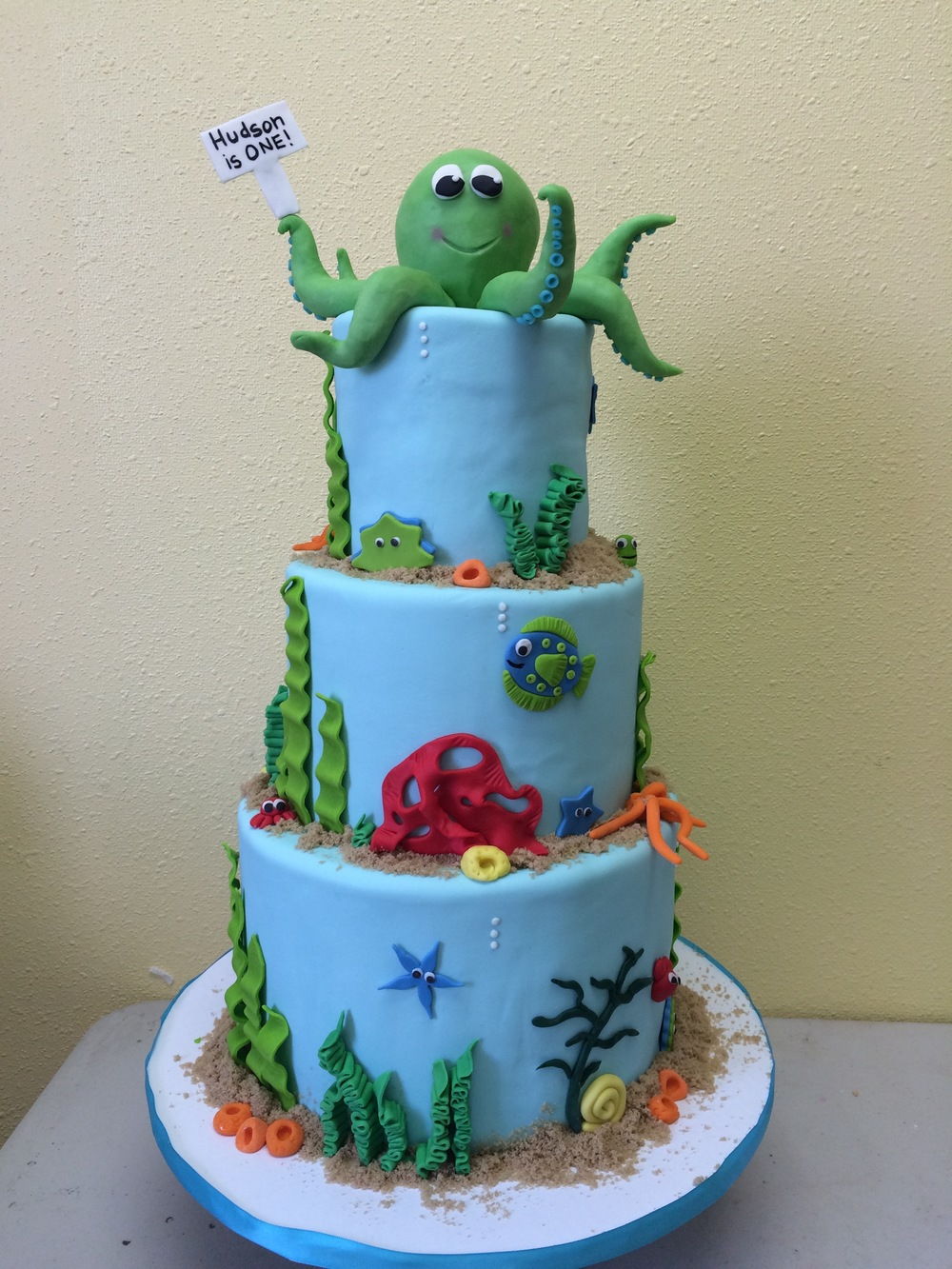 Octopus Birthday Cake | Sugar Lab Bake Shop
