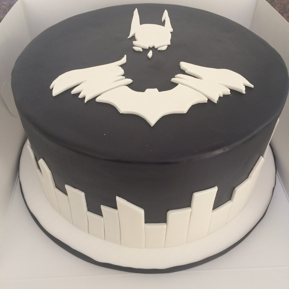 Sophisticated Batman Cake | Sugar Lab Bake Shop
