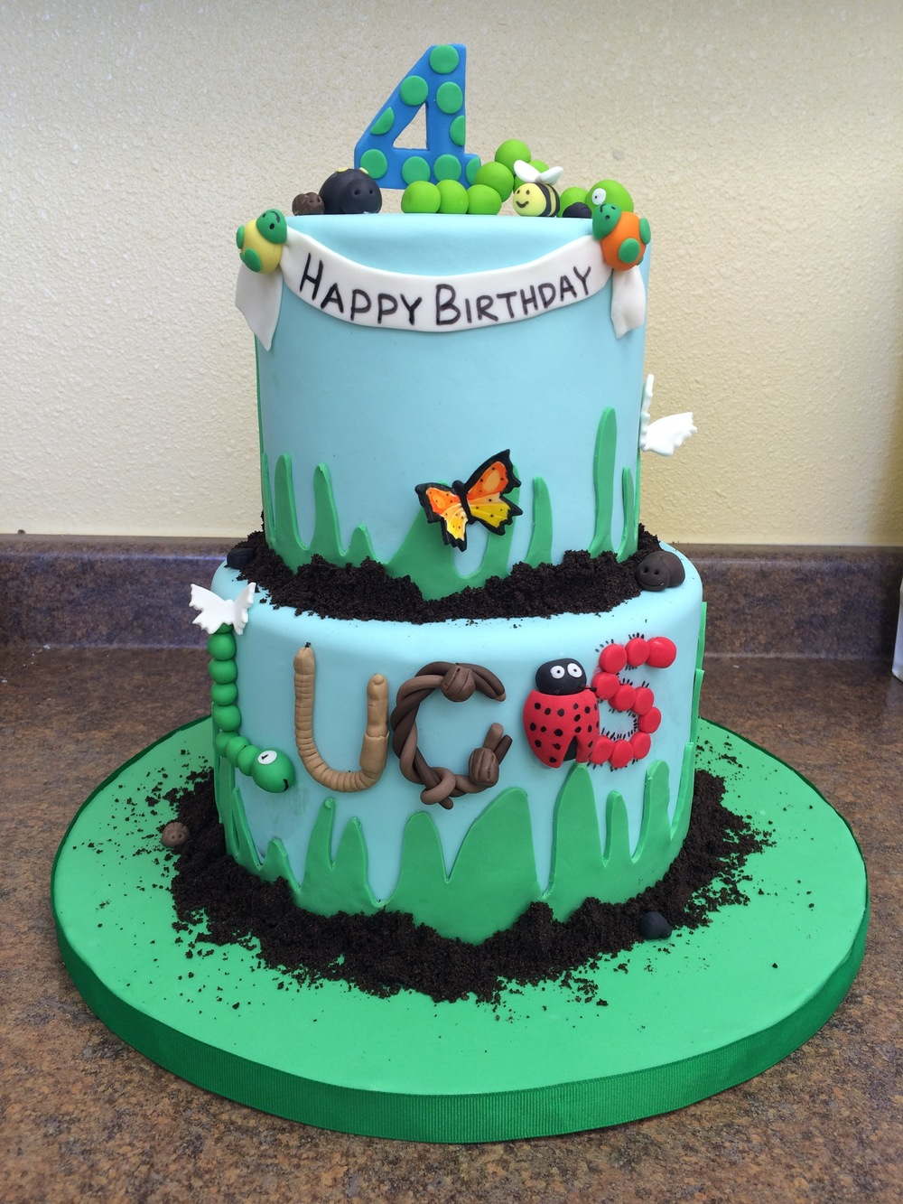 Bug Birthday Cake | Sugar Lab Bake Shop