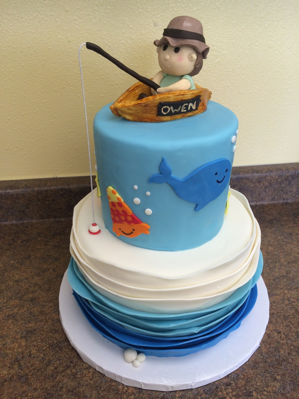 Fishing Cake | Sugar Lab Bake Shop