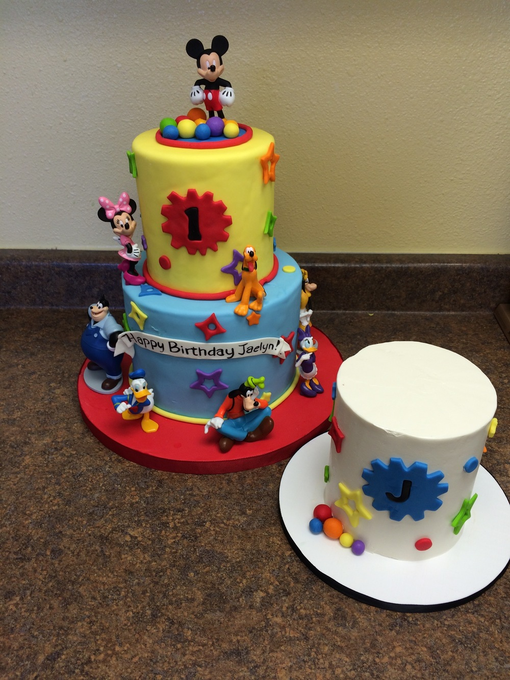 Mickey Mouse Birthday Cake | Sugar Lab Bake Shop