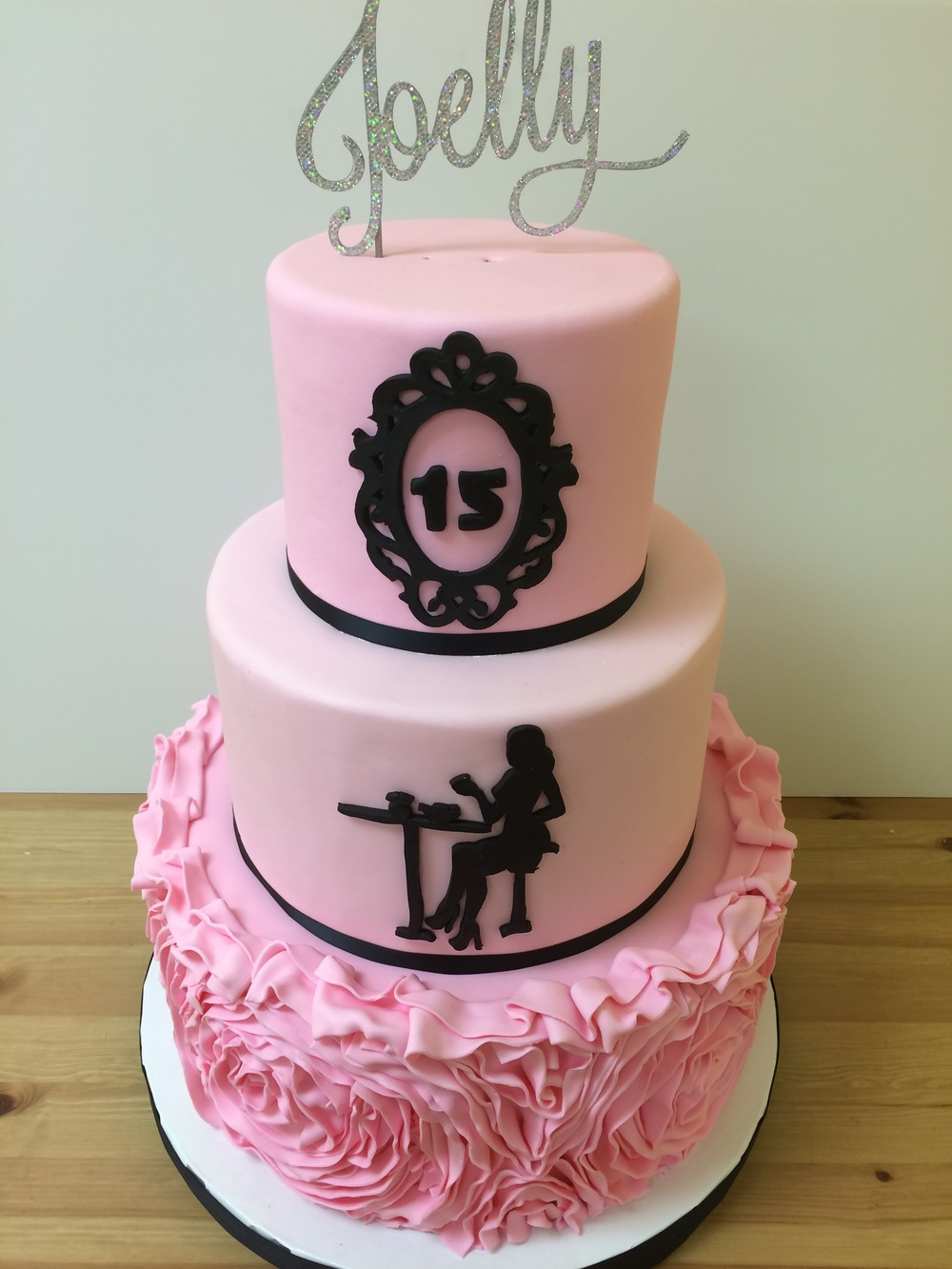 Paris Quinceanera Cake | Sugar Lab Bake Shop