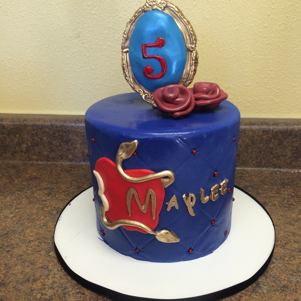 Descendants Cake | Sugar Lab Bake Shop