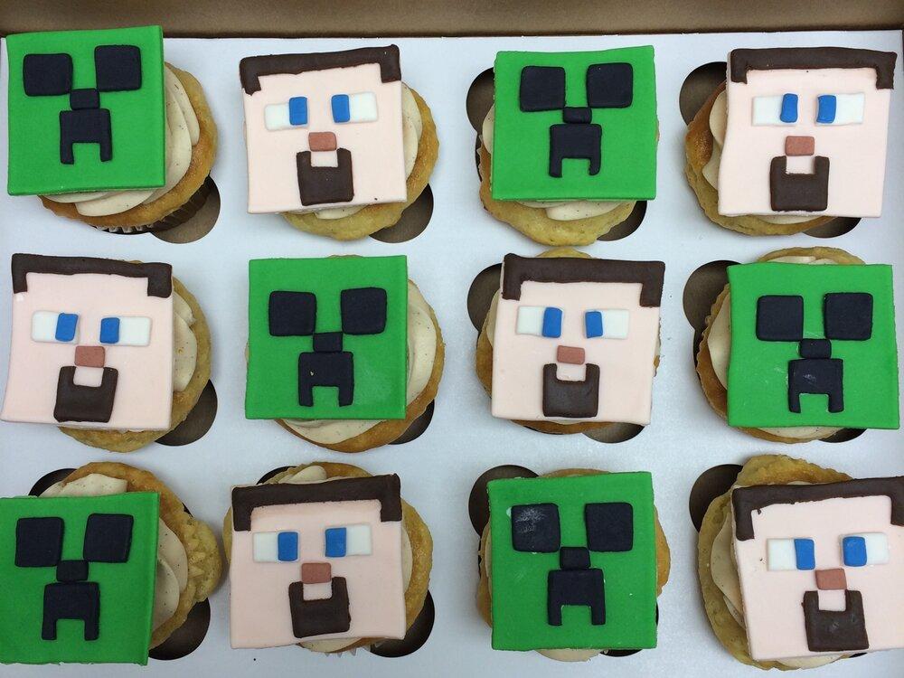 Minecraft Cupcakes | Sugar Lab Bake Shop