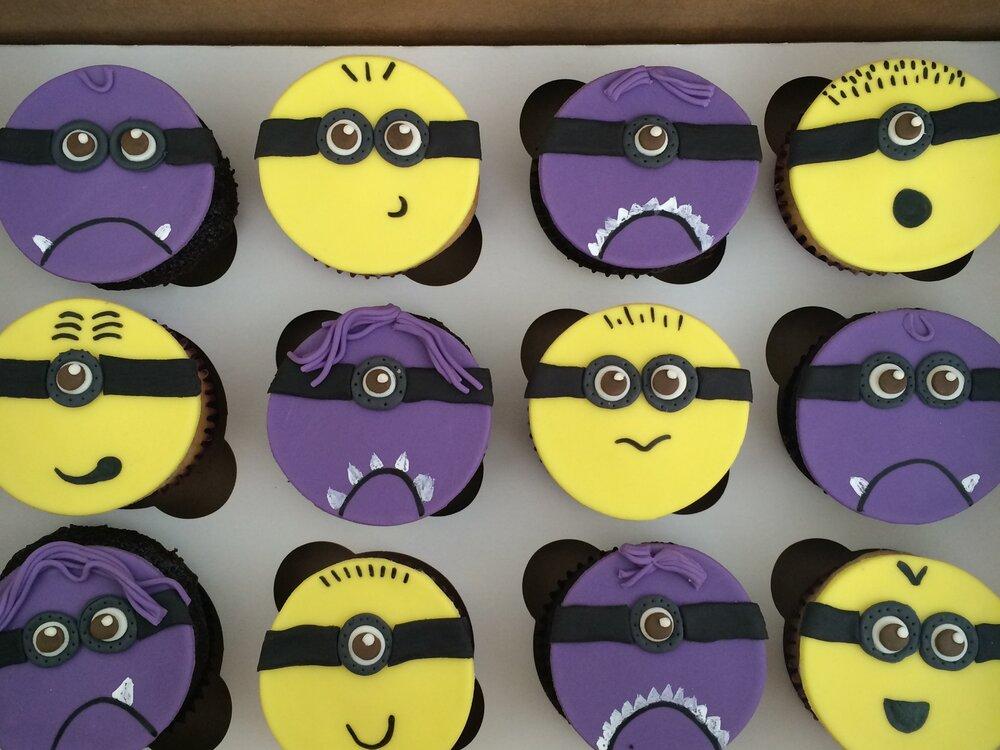 Minion Cupcakes | Sugar Lab Bake Shop