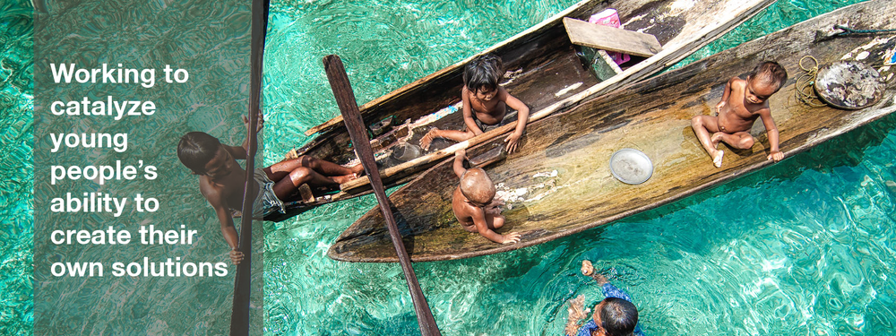 In Malaysia, young members of the Sea Gypsies, an ethnic group indigenous to south-east Asia, spend time in a boat. The Sea Gypsies free-dive to depths of 20 meters for 5 minutes at a time to fish.