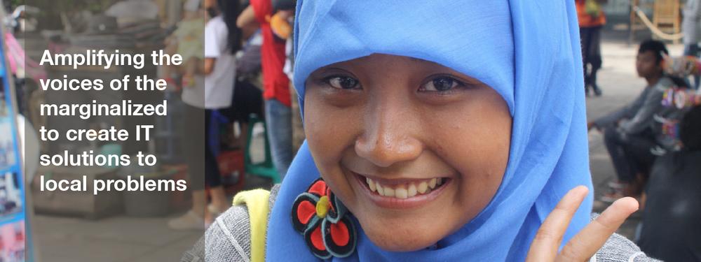 Teenage girl, smiling