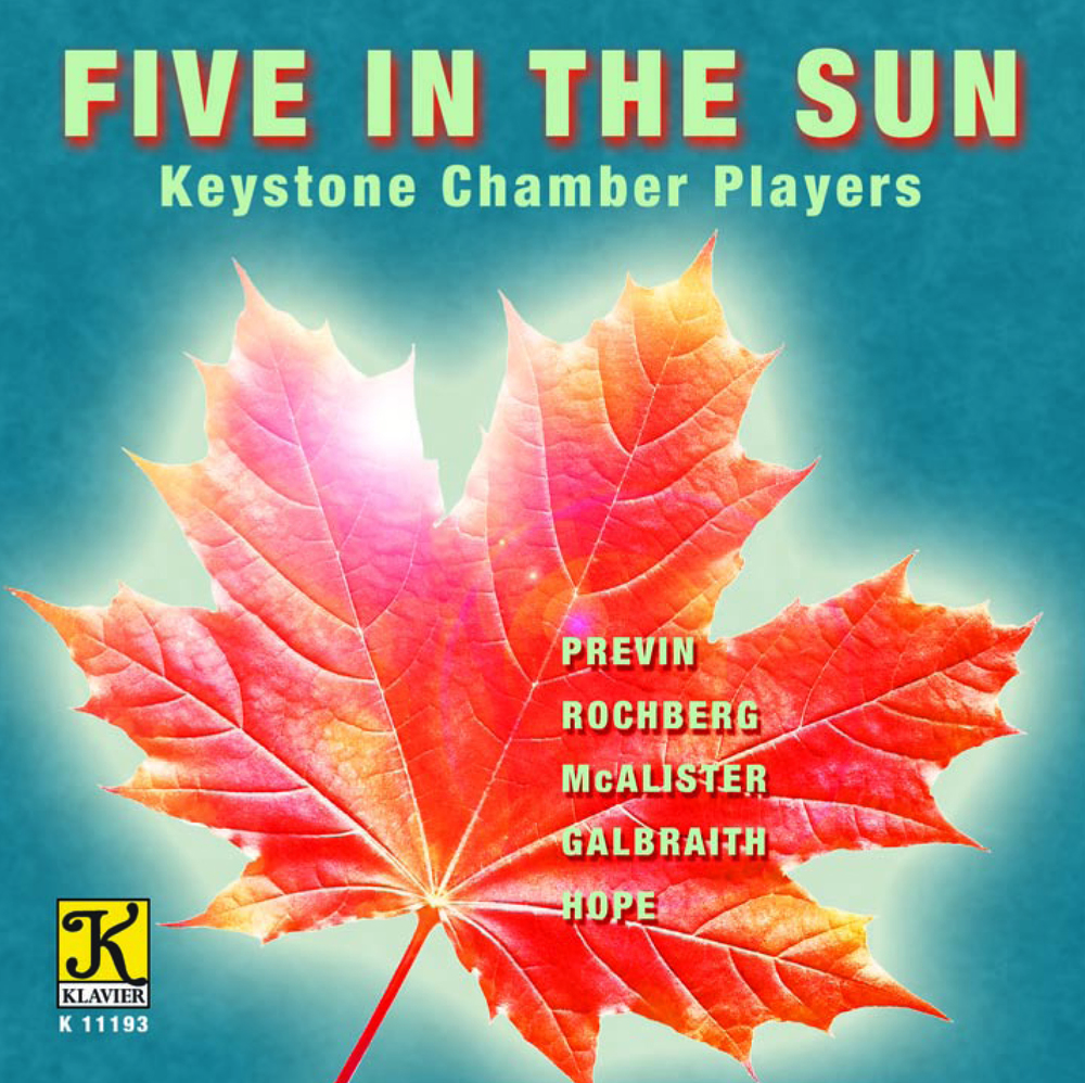 Five in the Sun (2013) Klavier Records