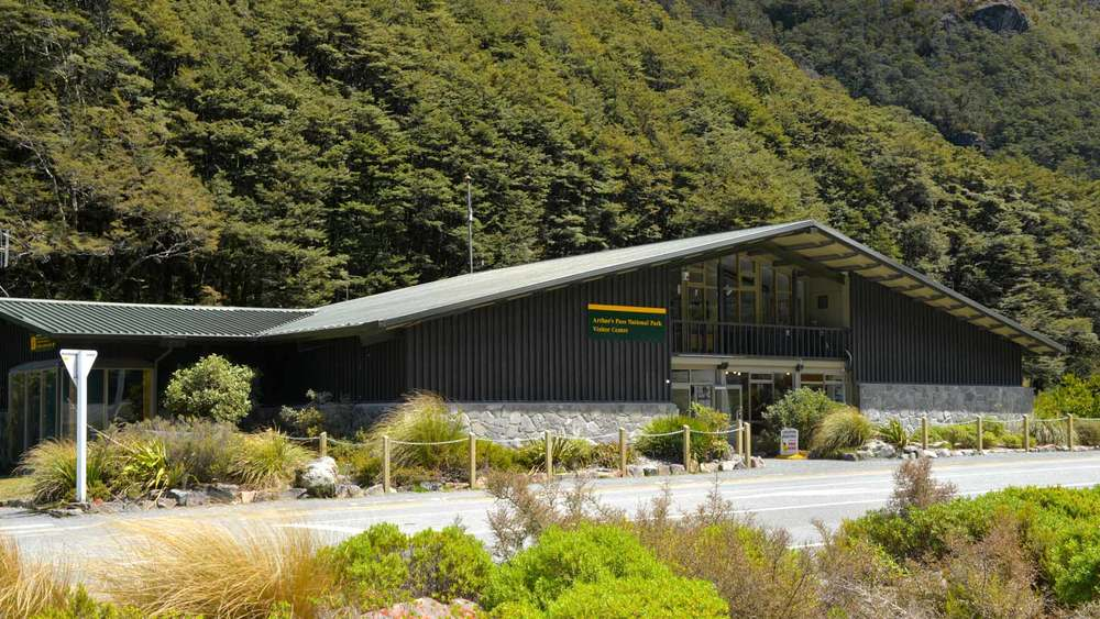 DOC information centre at Arthur's Pass