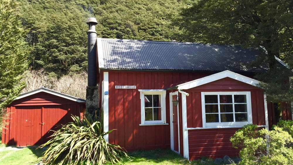 Historic cottage in Arthur's Pass Village