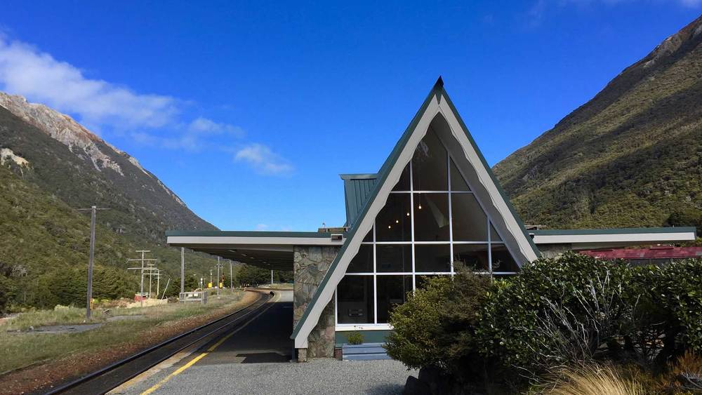 Arthur's Pass train station