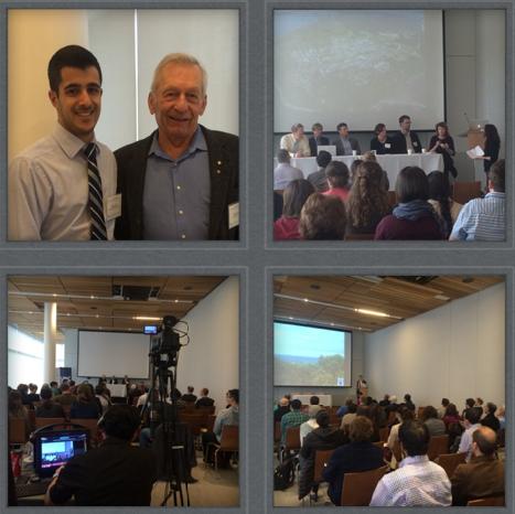 Top left: Professor David Schindler and I; Remainder: Sessional events