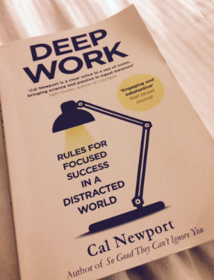 Cal Newport's  Deep Work.