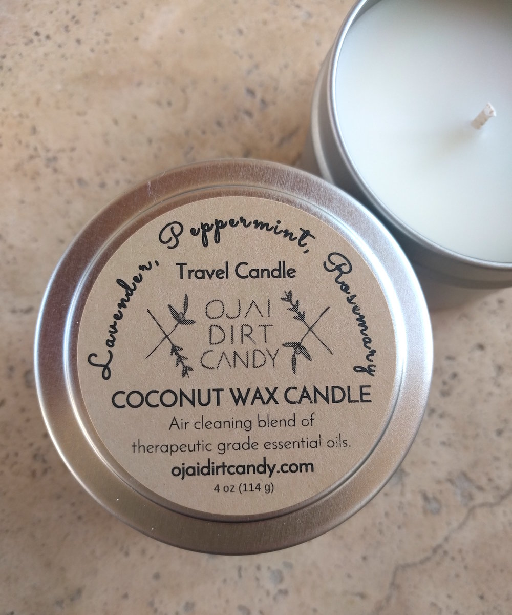 Ojai Dirt Candy Coconut Wax Candles