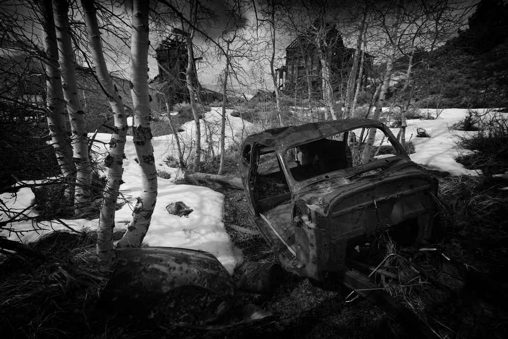 Chemung Mine Abandoned Vehicle