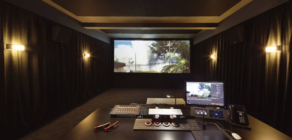 Davinci Resolve Colour Grading Facility.  Image taken from the   Soundfirm