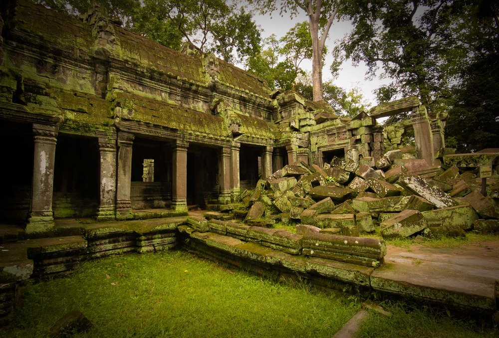 Ta Prohm from the west side